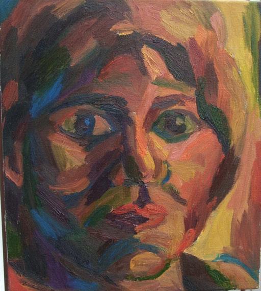 Portrait, 50x45cm