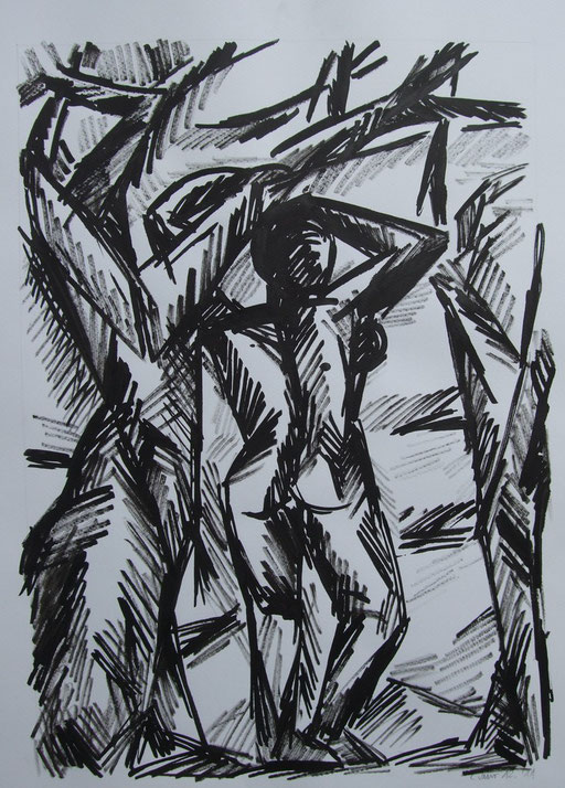 Figur, 50x70cm