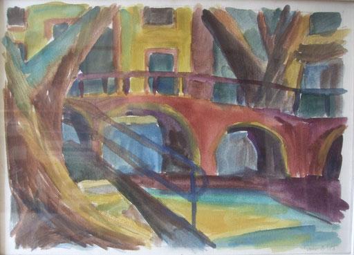 Amsterdam Gracht, 36x50cm