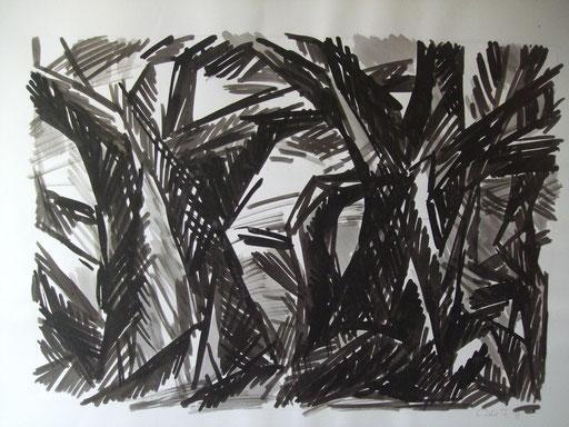 Bäume, 50x70cm