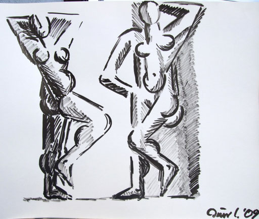Figuren, 50x70cm
