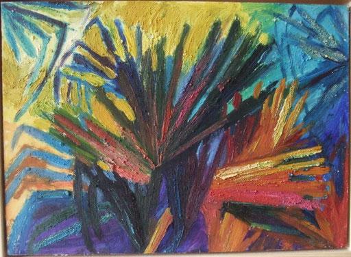 Palmblätter, 25x35