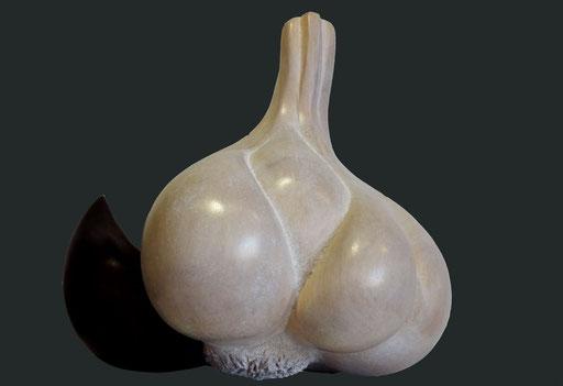 AIL DE CADOURS -  bois de tilleul - 26 x 20 cm
