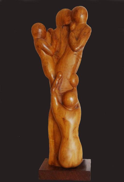 RACINES -  poirier - 40 x 22 cm