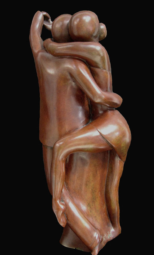 TANGO - Bronze n° 5/8 -   50 x 20 cm - 2500 €