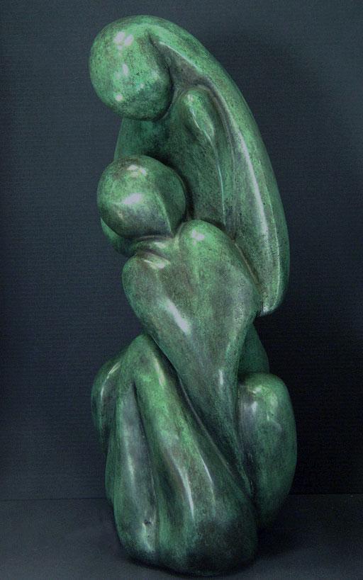 CONFIDENCES - Bronze n° 4/8  - 37 x 16 cm - dispo.