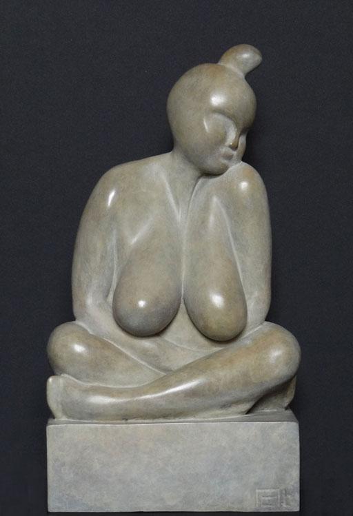 MAJA - Bronze  n° 1/8  -  24 x 18 cm - dispo.