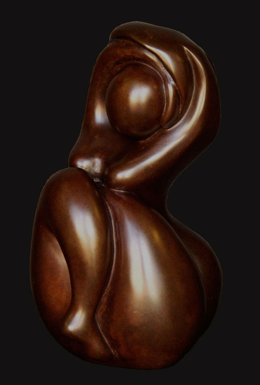 BAIGNEUSE DE BANYULS - Bronze  n°2/8  -24 x 15 cm - 1200 €