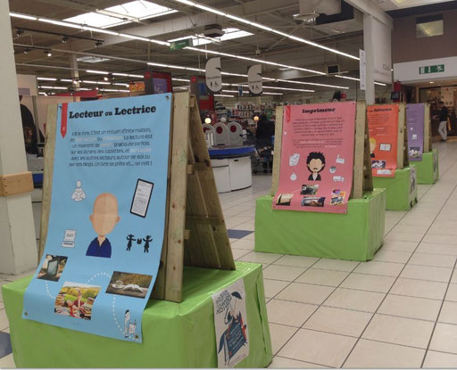 Exposition au magasin E.Leclerc de Relecq-Kerhuon