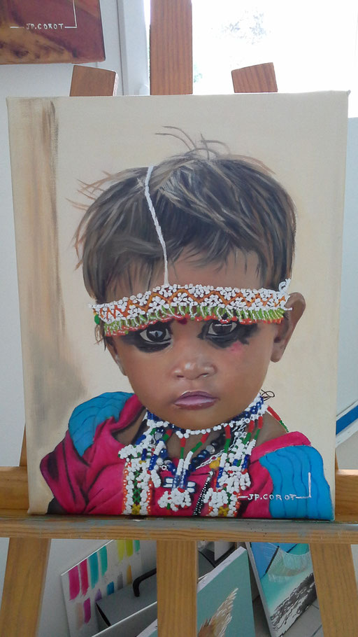 JEUNE ENFANT INDIEN