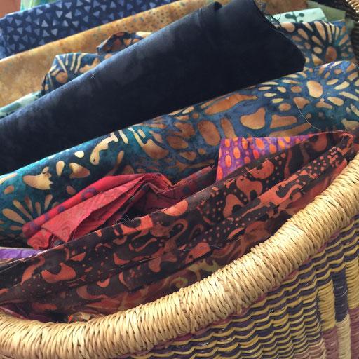 100% cotton batik fabrics