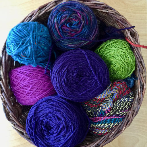 100% wool knitting & crocheting yarn