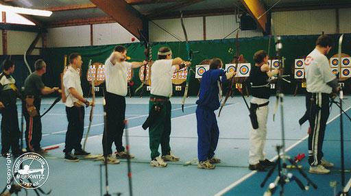 BSV Merkwitz 1997 e.V. als Ausrichter für die LM FITA Halle am 25.01.2003 in Gräfenhainichen