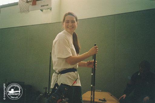 Blaue Scheibe am 22.02.2003 in Halle