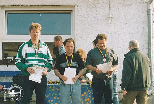 BSV Merkwitz 1997 e.V. bei der LM Feld/ Wald am 12./ 13.04.2003 in Quedlinburg