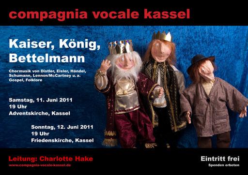 2011: Kaiser, König, ...