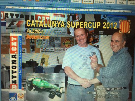 F1 CAT 2012 - Campió MIQUEL IBARZ IBARZ