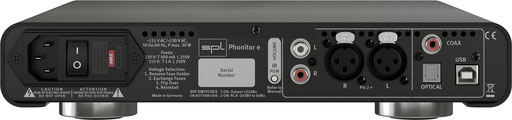 SPL Audio Phonitor e BACKSIDE