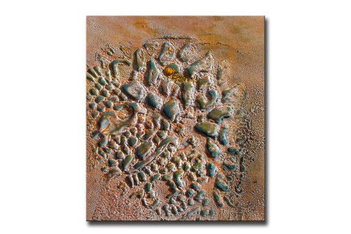 """Thomas Girbl """"black willow sienna"""" 38x44,5cm 2009"""