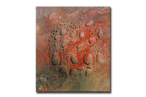 """Thomas Girbl """"eastern cotton wood gold"""" 38x44,5cm 2009"""