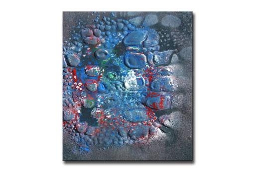 "Thomas Girbl ""eastern cotton wood light blue"" 38x44,5cm 2009"