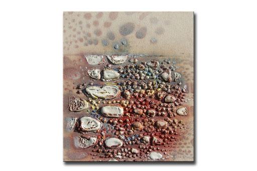 "Thomas Girbl ""eastern cotton wood beige"" 38x44,5cm 2009"