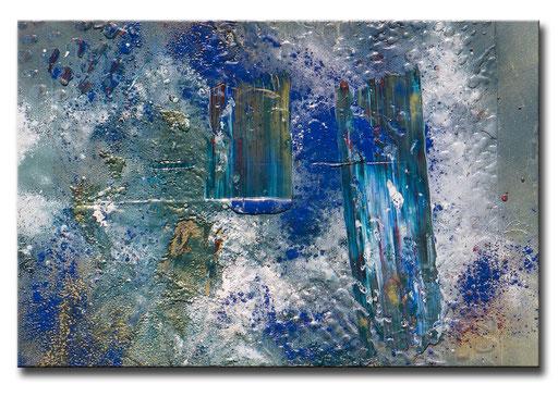 "Thomas Girbl ""GOLDADER""  90x60cm 2014"