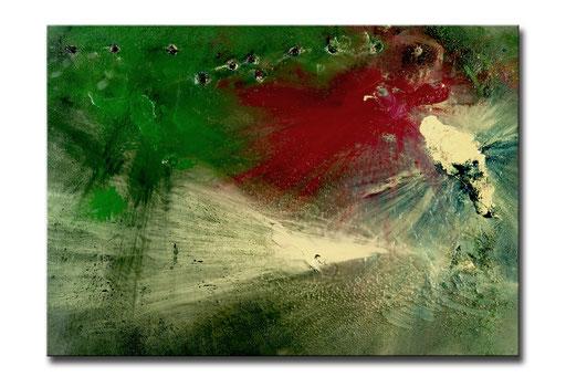"""Thomas Girbl """"STERNGEBURT""""  174,5x224cm 2009"""