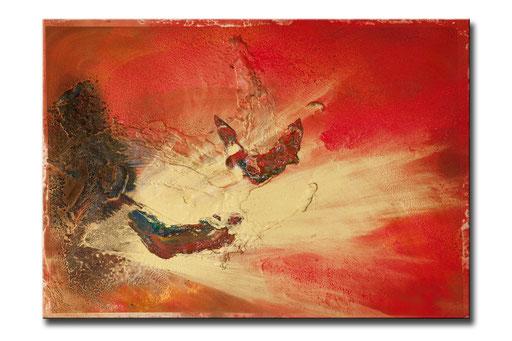 """Thomas Girbl """"STERNTAUFE""""  120x90cm 2009"""