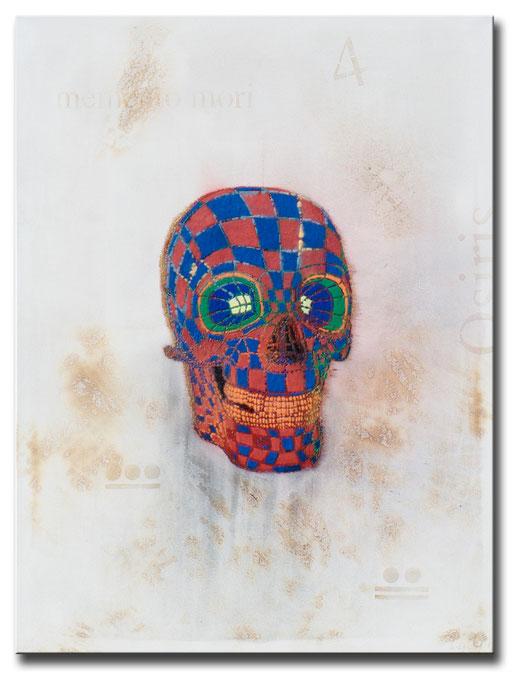 """Thomas Girbl """"Skull Memento Mori"""" 120x160cm 2014"""