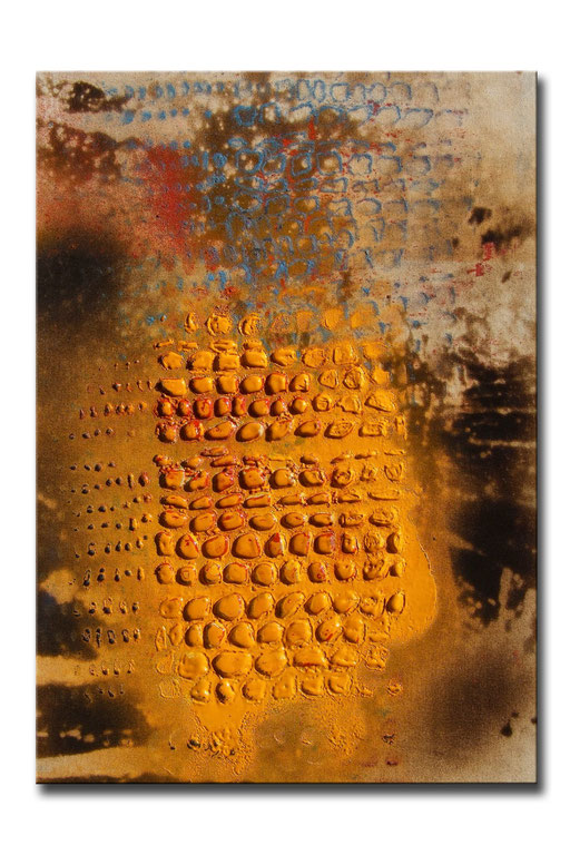 "Thomas Girbl ""black willow sun 1"" 50x70cm 2009"