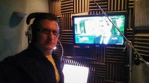 """Transporter: The Series"" ADR Recording Session in London"