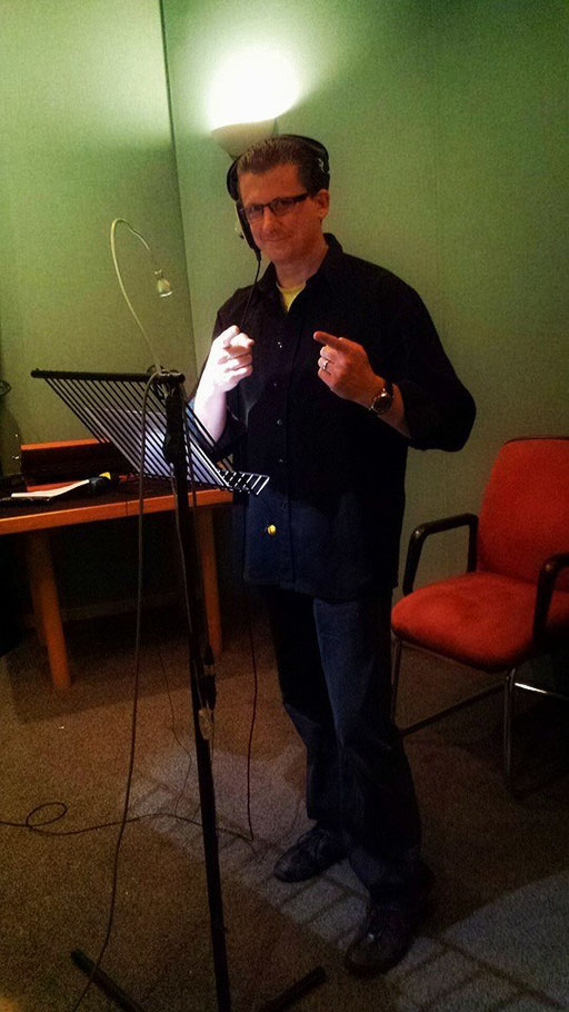 Transporter ADR Recording Session in London