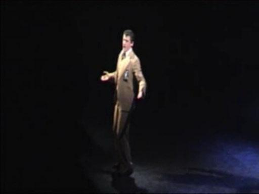 """Singing Bui Doi as John in """"Miss Saigon"""" UK"""