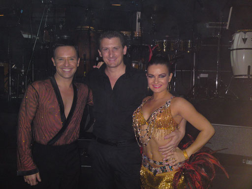 """Performing here as Lead Vocalist in """"Latin Fever"""" in London's West End and Birmingham Symphony Hall 2009"""