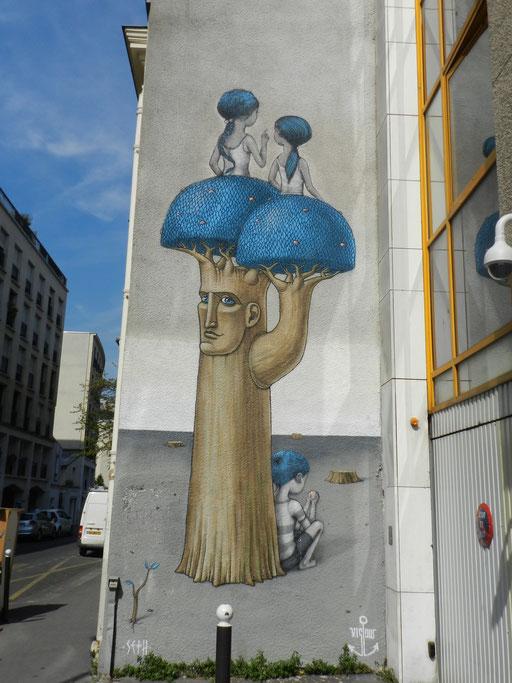 Seth, rue Emile Deslandres, 13e arrondissement