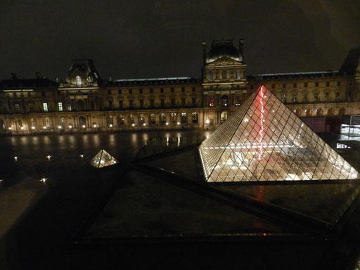 Claude Lévêque au Louvre