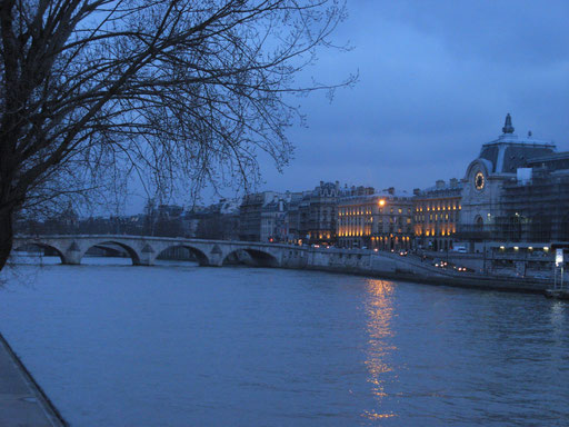 Orsay museum and Royal bridge