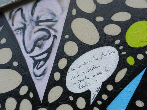 Fresque à bulles, rue Alibert, 10e arrondissement