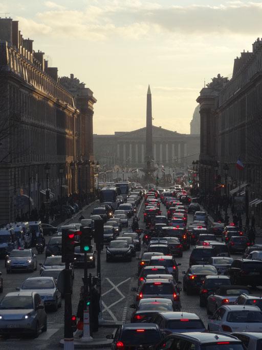Rue Royale et obélisque