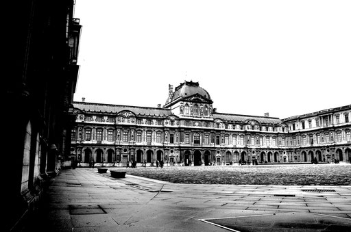 Cour carrée of the Louvre