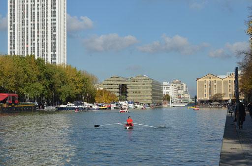 La Villette pond