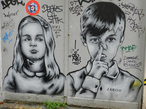Zabou, 13e arrondissement