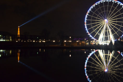 Tuileries garden and Concorde wheel