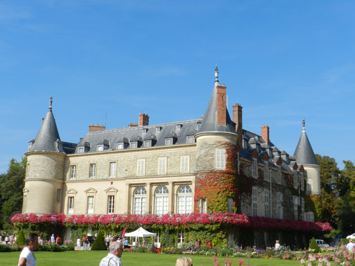 Rambouillet castle and park