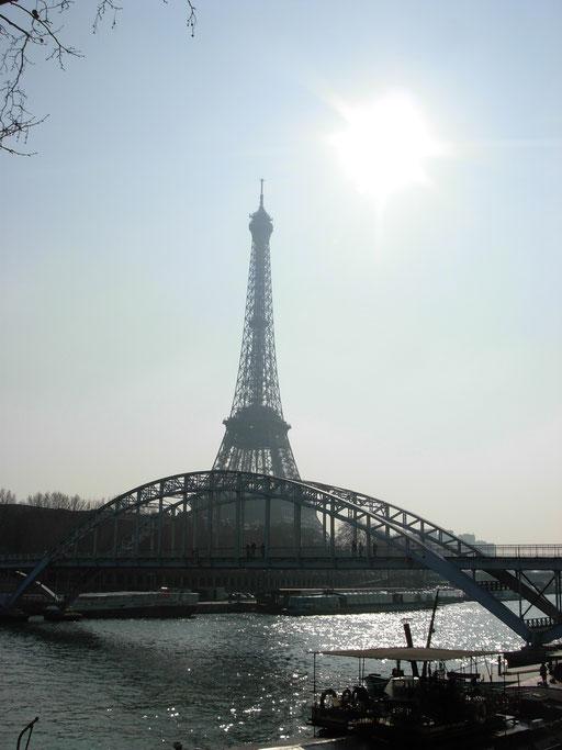 Tour Eiffel et passerelle Debilly