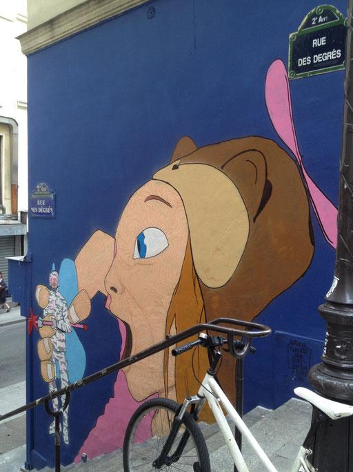 Paris Sketch Culture, rue des Degrés, 2nd arrondissement