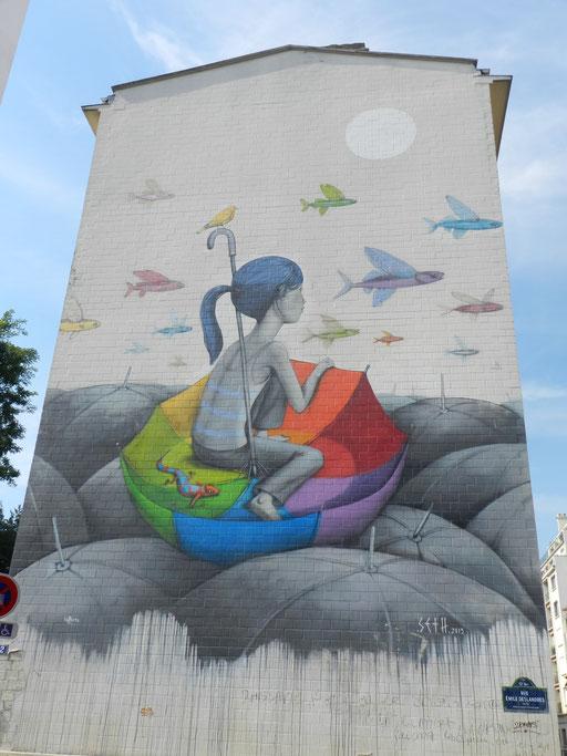 Seth, rue des Cordelières, 13th arrondissement