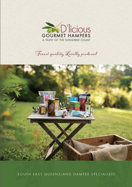 D'licious Gourmet Hamper brochure page 1