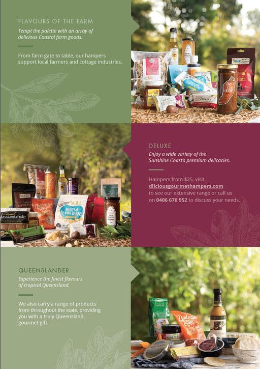 D'licious Gourmet Hamper brochure page 3